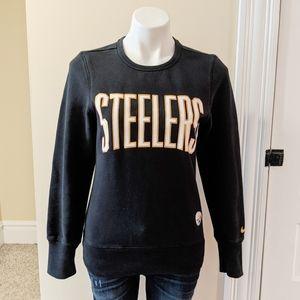 Nike Pittsburgh Steelers crew neck sweatshirt.